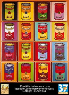 Hey, Campbell's! Forget the retro cans, give us some retro soup ingredients! You remember, with NO GMOS.
