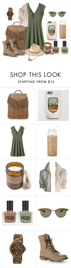 """Jurassic Park"" by lchar ❤ liked on Polyvore featuring Topshop, Patagonia, Kate Spade, YSL RIVE GAUCHE, RGB, Oliver Peoples, Earth, Dirty Laundry and Pistil"