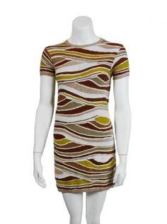 M-MISSONI DRESS  LUXURY DRESS SALE, T-SHIRT DRESS $135.00
