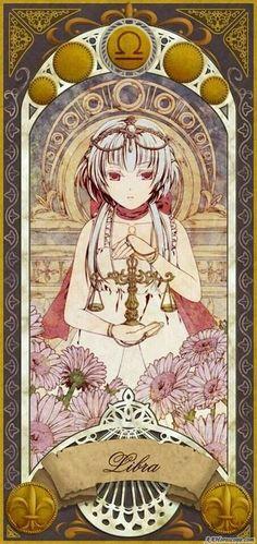 Libra the Scales by raziel Anime Zodiac, Zodiac Art, Zodiac Horoscope, Zodiac Signs, Libra Images, Signo Libra, Zodiac Society, Estilo Anime, Awesome Anime