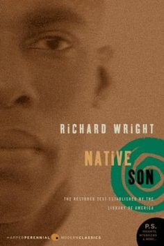 Native son by Richard Wright.  Click the cover image to check out or request the Douglass Branch bestsellers and classics kindle.