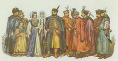 The nobles were the third group in the social pyramid. They were rich and wore very nice clothing. Nobles ate the nicest of foods. Nobles ate the finest food grown grown by the peasants and laborers.