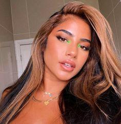 Green Eyeshadow Look, Best Eyeshadow, Liquid Eyeshadow, Eyeshadow Looks, Eyeshadows, Eyeshadow Makeup, Bright Eye Makeup, Makeup Eye Looks, Creative Makeup Looks