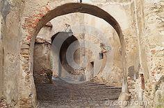 Clocktower passage, Sighisoara, Transylvania, Romania