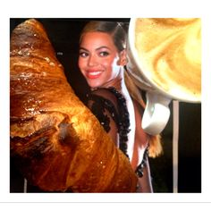 Breakfast with Beyonce :-)