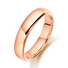 EC One   Wedding Ring Heavy Court Shape 5mm