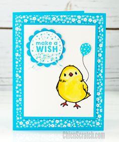 Honeycomb Happiness Make a Wish Card   Chic' n Scratch   Bloglovin'