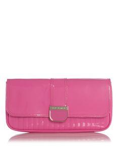 Ted Baker Clutch in neon roze € 85