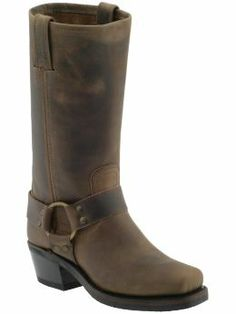 My Favorite Boots  Frye Harness