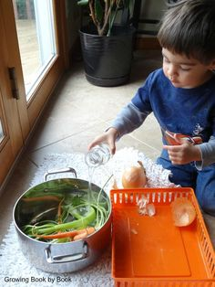 Cooking with Kids   Carrot Cooking and Play