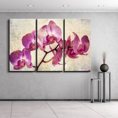 Ready2hangart Alexis Bueno 'Painted Petals XVIII' Canvas Wall Art - Overstock™ Shopping - Top Rated Ready2hangart Canvas