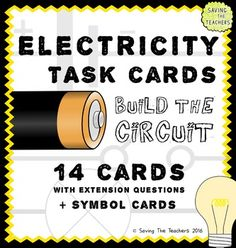 Electricity Circuit Building Activity - A fun, practical, and hands on activity for children to practice constructing series and parallel circuits.