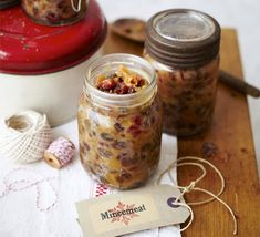 Cooking up batches of this festive, fruity mincemeat will fill your kitchen with the smell of Christmas