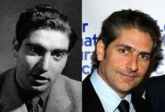 Famous Lookalikes: Robert Capa - Michael Imperioli (Images of Robert Capa and Michael Imperioli provided by Getty Images)