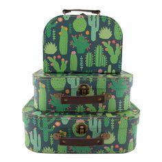 Cactus Suitcases