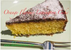 Lalanie's Kitchen: Orange Flavour Lamington Cake #Fragrance and flavour from orange attracts more people to this tasty treat. This lamington cake is easy to make.  This treat is great to take for afternoon tea or your BBQ parties or families, friends gatherings. Make one day ahead #baking #Australianday #lamington #orangeflavourcake #orangelamingtoncake