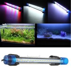 Aquarium Waterproof LED Light Bar Fish Tank Submersible Downlight Tropical Aquarium Product 4W 40CM