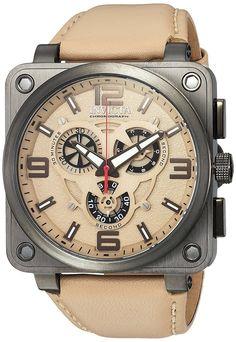 8534016d66a Invicta Men s 23553 Corduba Quartz Multifunction Tan Dial Watch