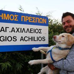 Σε αυτό το ταξίδι #happytraveller #florina #prespes έχουμε κ #gueststar  Ηρακλη!! @herculesthedoggr the #traveldog #florina #macedonia #greece #agiosahilios #Prespa #visitgreece #travel #dog #pet #traveller