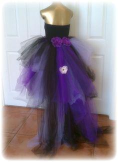 Adult tutu dress, wedding, bridal, tutu, fantasy, adult fairy dress, bridesmaid dress, steampunk wedding, goth wedding, halloween costume