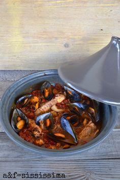 acqua e farina-sississima: Cucina del Lazio: zuppa di pesce di Civitavecchia
