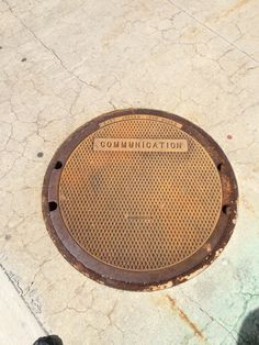 If the manhole cover was off, would that mean open communication????