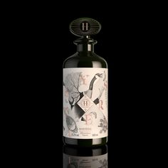 H-Theoria, Effrontément Liqueur on Packaging of the World - Creative Package Design Gallery