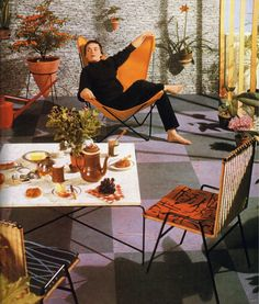 1000 Images About 50s Interiors On Pinterest Mid