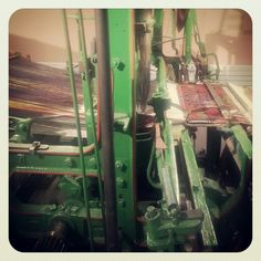Loom ready to go. Ready To Go, Loom, Fair Grounds, Carpet, Museum, Travel, Viajes, Destinations, Blankets