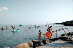 Take a dip in the #Balaton the largest lake in Central Europe located in #Hungary | Magic Magyar