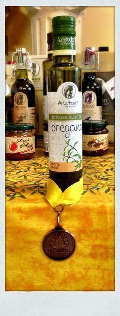 Ariston Oregano Infused Olive oil