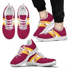 Three Colors Vertical Arizona State Sun Devils Sneakers – Best Funny Store