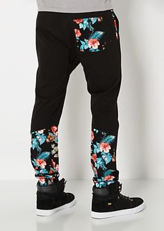 Hibiscus Paneled Jogger | rue21