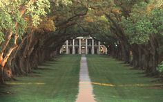 I would totally live on an old plantation like this.
