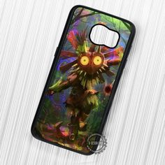 Majora's Mask Painting Legend of Zelda - Samsung Galaxy S7 S6 S5 Note 7 Cases & Covers
