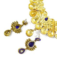 Buy Fashion Necklaces for Women at IndianbeautifulArt, Get Bollywood Designer CZ Stone Goldtone Necklace Set Traditional Jewelry, Free 30 Days Return. Fashion Necklace, Fashion Jewelry, Necklace Set, Jewelry Design, Traditional, Stone, Bracelets, Face, Handmade