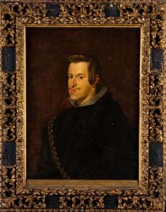 """RUBENS IN SPAIN Peter Paul Rubens Portrait of Charles of Austria, Infante of Spain; presumably lost """"""""The Prince Don Carlos [Infante Charles of Austria], born in was. Spanish Netherlands, Austria, Holy Roman Empire, Baroque Art, Peter Paul Rubens, Old Master, Picture Frames, Mona Lisa, Spain"""
