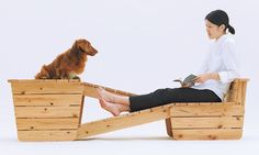 Love this!  Taking the biscuit: Atelier Bow-Wow's Architecture for Long-bodied, Short-legged Dog. Photograph: Hiroshi Yoda