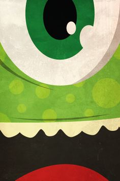 #Disney #iPhone #Wallpaper #Mike #MonstersInc #Pixar