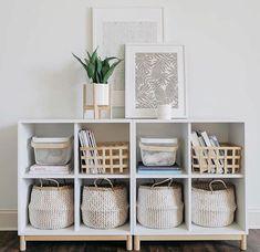 Ikea Cube Shelves, Cube Storage, Storage Spaces, Toy Storage, Budget Storage, Clothes Storage, Smart Storage, Kids Storage, Storage Design