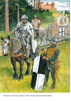 Knights of the Teutonic Order 1450, by Marek Szyszko