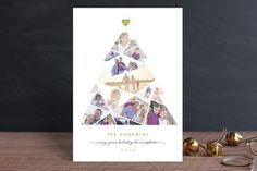Complete Tree Holiday Postcards