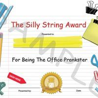 Elegant Funny Office Awards   101 Funny Award Ideas For Employees, Volunteers Or  Staff Photo: