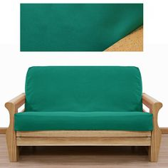 36 Best Going Green Green Futon Covers That Is Images Futon Covers Custom Slipcovers