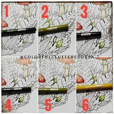 #colorcombo #coloringbook #coloration #prismacolor #workshop