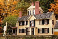 The Wayside House, Concord, MA