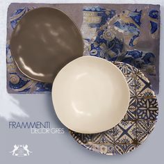 home decor .blue tiles for the stoneware table set Sherwood of England Blue Tiles, Stoneware, Table Settings, England, Plates, Tableware, Home Decor, Licence Plates, Dishes