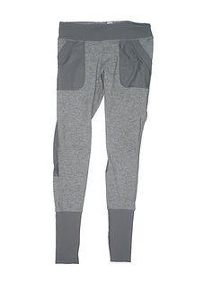 3f4b1e2b18d11 Girl Ivivva Heather Gray Athletic Yoga Leggings Pants Pockets Size 14 # Ivivva #LeggingsJeggings #