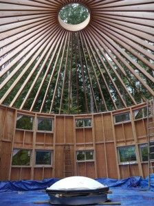 Yurt Roof Framing Round Structure Dome House Facade House Round House They are flexible, quick to construct, affordable, and adaptable for a variety of residential and commercial uses. pinterest