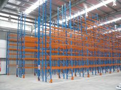 Pallet Racking can be serviced by virtually any type of forklift and is suitable for a wide range of pallet storing applications. A cost effective solution with a low equipment and capital outlay Pallet Racking, Pallet Storage, Racking System, Can Design, Cairns, Storage Solutions, Shelving, Australia, Range